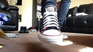Skinny Jeans And Converse New Black Custom Converse With Black Super Skinny Jeans Youtube