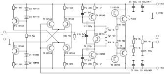 watt hifi amplifier circuit and band equalizer electronics diagram