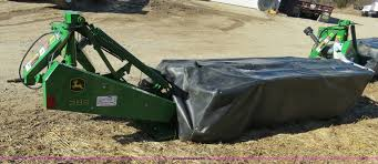 2012 john deere 285 rotary disc mower item b4876 sold m