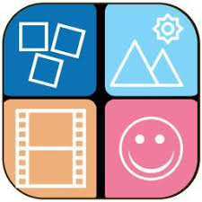 square photo collage maker frames layout shape maker pics