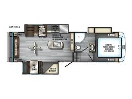 2018 forest river rv cherokee arctic wolf 285drl4 purcell ok