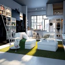 Small Loft Bedroom Furniture Magnificent Modern Furniture Design For Small Apartment Decorating