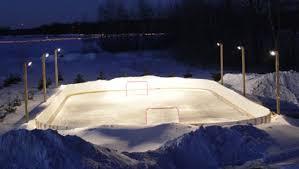 the best backyard hockey rinks cavyhockey for the beauty of hockey