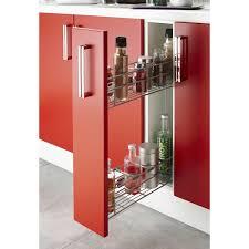 meuble cuisine 20 cm armoire de rangement cuisine rangement coulissant torchons et