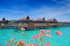 island dive bungalows resort sea summer lagoon tropical turquoise