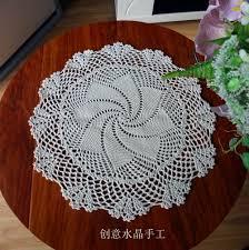Crochet For Home Decor by High Quality Crochet Table Mats Buy Cheap Crochet Table Mats Lots