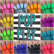 olivia jade nails color club pop play collection swatches u0026 review
