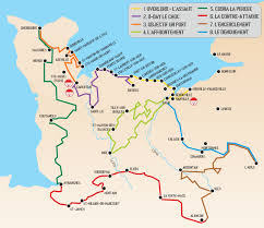 Normandy Map Signposted Routes Of Operation Overlord And The Battle Of Normandy