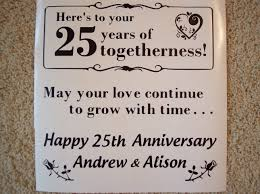 Best 25 Anniversary Wishes To 25th Wedding Anniversary U2013 Personalized O U0027reilly Tiles