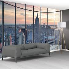 wall new york city scape window view mural wallpaper cm x cm art wall new york city scape window view mural wallpaper cityscape hand drawn vector pixersize
