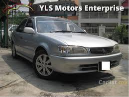 toyota corolla 2001 sedan toyota corolla 2001 seg 1 6 in kuala lumpur automatic sedan silver