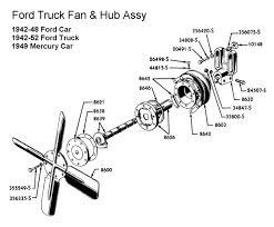 mercury fan cincinnati ohio flathead parts drawings engines