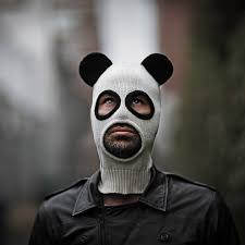 pandito balaclava halloween panda mask for men and women