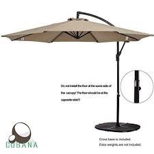 5 Patio Umbrella Top 10 Best Offset Patio Umbrellas In 2018