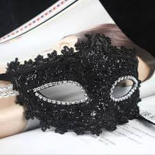 halloween masquerade mask fenical masquerade mask venetian lace crystal rhinestones cosplay