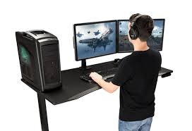 gaming desks ergonomic gaming desk uplift desk