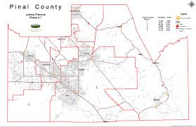 Circuit Court Map Split Pinal Board Of Superivisors Redraws Justice Court Precincts