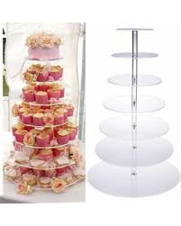 cake tier get the deal cake stand cake tier cake pan 7 tier clear circle