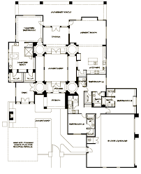courtyard house plan interior courtyard house plan called the picasso by floor plans