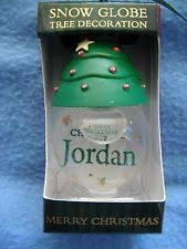 Personalised Snow Globes Tree Decorations Christmas Tree Snow Globe Ebay