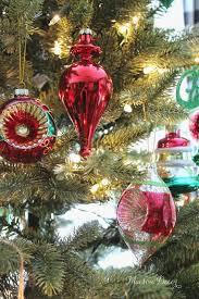 maison decor our traditional christmas tree