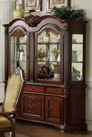 Buffet With Hutch Furniture Buy Furniture Of America Cm3005hb Napa Valley Buffet Hutch