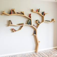 Modern Wooden Shelf Design by Best 25 Tree Shelf Ideas On Pinterest Tree Bookshelf Natural