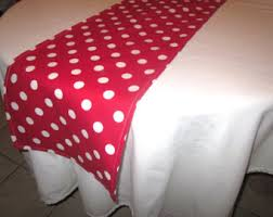 red and white table runner red and white polka dot table runner minnie mouse party