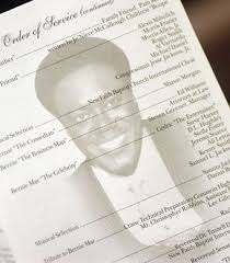 memorial program ideas photo of bernie mac s memorial service program popsugar