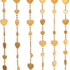 beaded home decor beautiful home decor acrylic beaded curtain golden heart