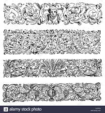 Victorian Design Style by Retro Style Design Elements With A Victorian Or Medieval Style