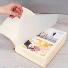 large photo album personalised leather photo album printed with any photograph