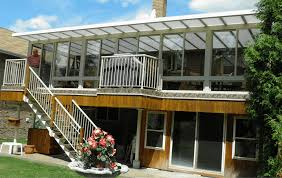 Polycarbonate Porch by Roofing Systems Northern Ontario Weatherdek And Sunrooms