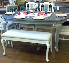 Painted Oak Dining Table And Chairs Dining Table Painting Dining Table And Chairs White Grey Painted