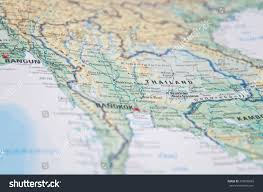 Eastern Asia Map by Close South East Asia Map Stock Photo 372820669 Shutterstock