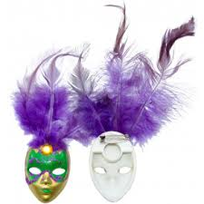 miniature mardi gras masks mardi gras decorations mardigrasoutlet