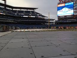 explaining how the winter classic ice rink is being built at