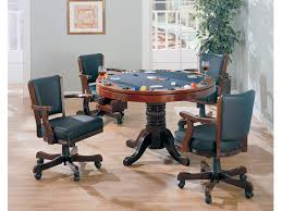 mitchell game table dining table that converts into bumper pool