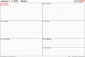 6 week calendar template cerescoffee co