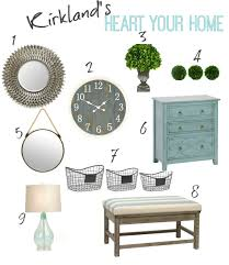 Kirkland Home Decor Locations How To Heart Your Home With Kirkland U0027s My Kirklands Blog