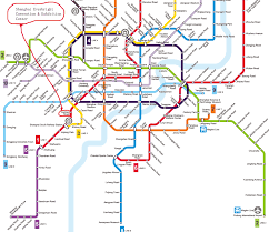 Shanghai Subway Map by Shanghai Metro Network Map