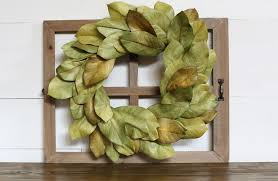 crafted magnolia wreath 39 99 faux wreaths