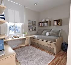 Simple Teenage Bedroom Design With Gray Beds Creating Teenage - Bedroom design for teenager