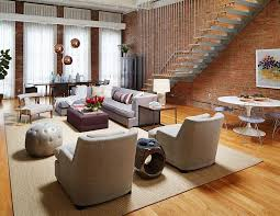 interior decoration in home brick wall living rooms that inspire your design creativity