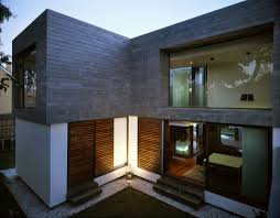 narrow modern homes small modern homes breakingdesign net images on cool small modern
