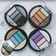 Eyeshadow Qianyu pengiriman gratis qianyu lapisan ganda sepuluh warna eye shadow