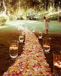 wedding ceremony decoration ideas wedding altar and aisle decorations martha stewart weddings