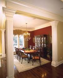 Southern Dining Rooms Prentiss Manor Colonial Home Plan 024s 0023 House Plans And More