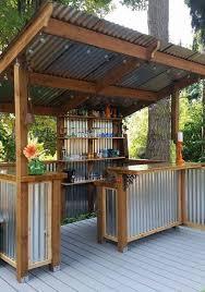 Backyard Shed Bar Five Backyard Bars You U0027ll Want To Build Immediately
