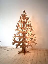 cardboard christmas tree alternative tree ideas